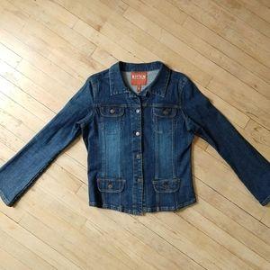 BITTEN by Sarah Jessica Parker jean jacket sz XL